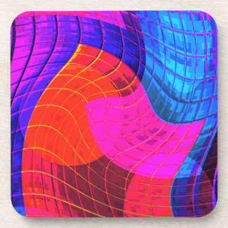 Re-Created Function f(x) Beverage Coaster