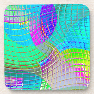 Re-Created Function f(x) Beverage Coasters
