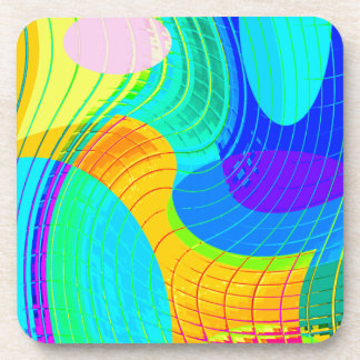 Re-Created Function f(x) Drink Coasters
