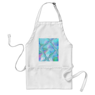 Re-Created Glass Ceiling by Robert S. Lee Adult Apron
