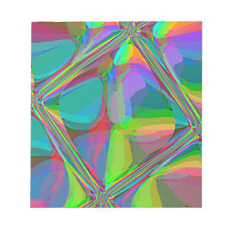 Re-Created Glass Ceiling by Robert S. Lee Notepad