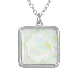 Re-Created Glass Ceiling by Robert S. Lee Silver Plated Necklace