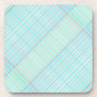 Re-Created Grid by Robert S. Lee Beverage Coaster