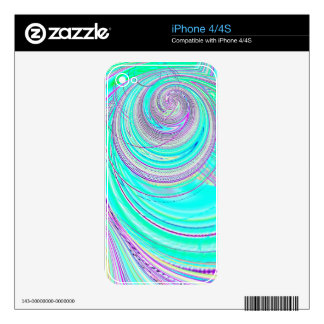 Re-Created Hurricane by Robert S. Lee iPhone 4 Decals
