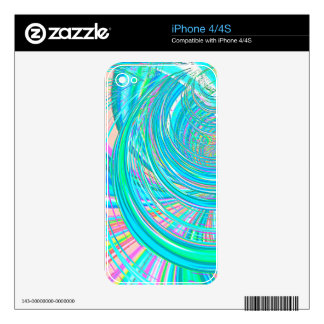 Re-Created Hurricane by Robert S. Lee iPhone 4S Decal