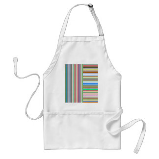 Re-Created Lines & Stripes by Robert S. Lee Adult Apron