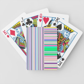 Re-Created Lines & Stripes by Robert S. Lee Bicycle Playing Cards