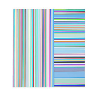 Re-Created Lines & Stripes by Robert S. Lee Notepad