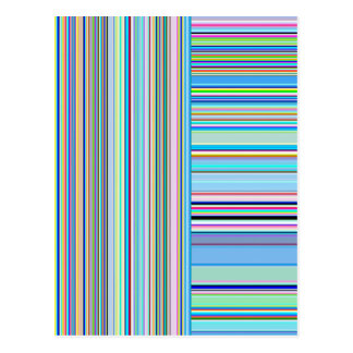 Re-Created Lines & Stripes by Robert S. Lee Postcard