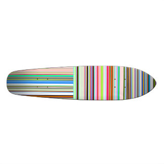 Re-Created Lines & Stripes by Robert S. Lee Skateboard