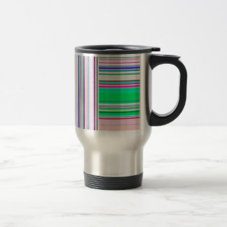 Re-Created Lines & Stripes by Robert S. Lee Travel Mug