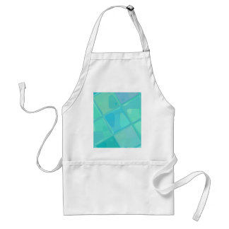 Re-Created Mirrored SQ by Robert S. Lee Adult Apron