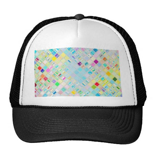 Re-Created Mosaic Mesh Hat