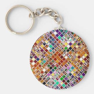 Re-Created Mosaic Keychain
