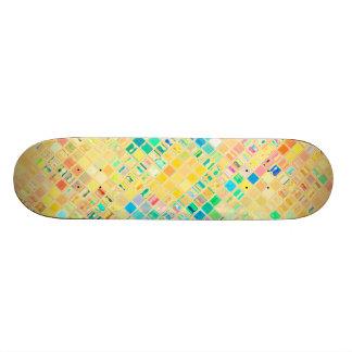 Re-Created Mosaic Skateboard Deck
