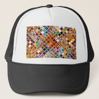 Re-Created Mosaic Trucker Hat