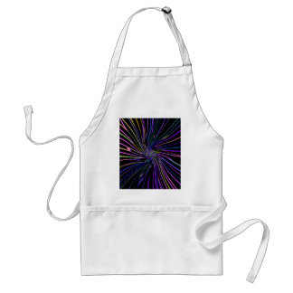 Re-Created Night Blossom by Robert S. Lee Adult Apron