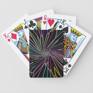 Re-Created Night Blossom by Robert S. Lee Bicycle Playing Cards