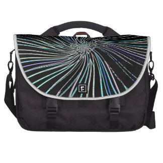 Re-Created Night Blossom by Robert S. Lee Laptop Bags
