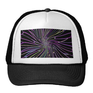 Re-Created Night Blossom by Robert S. Lee Trucker Hat