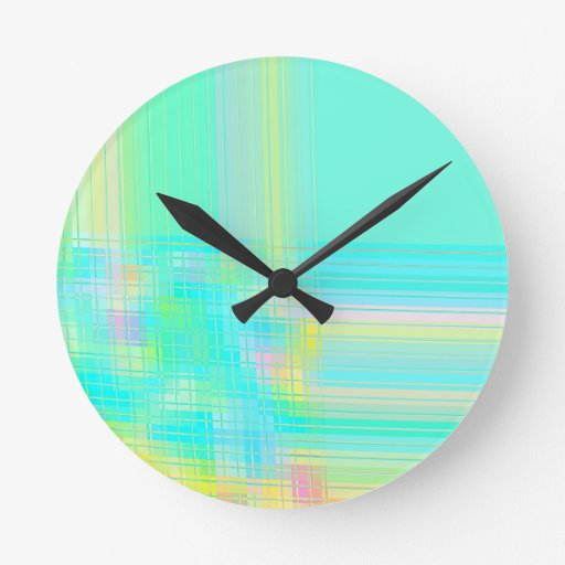 Re-Created Northern Cross Round Wall Clocks