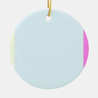 Re-Created ONE Double-Sided Ceramic Round Christmas Ornament