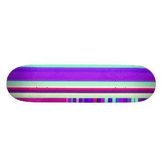 Re-Created Parquet Skateboard Deck