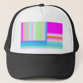Re-Created Parquet Trucker Hat
