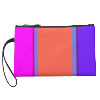 Re-Created Playing Field Wristlet Purse