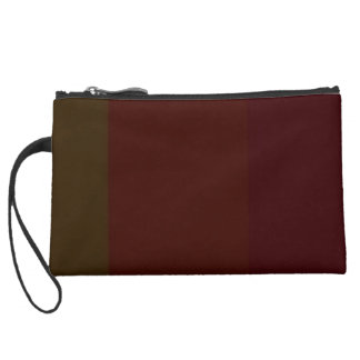 Re-Created Playing Field Wristlet Clutch