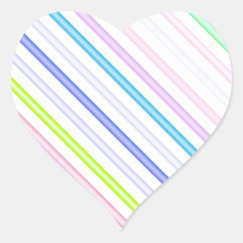 Re_Created Rakes Heart Sticker
