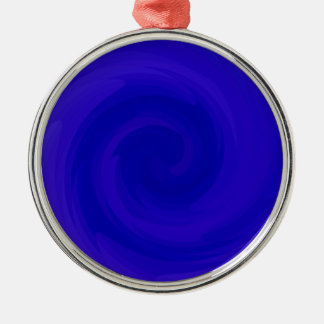 Re-Created Rrose Round Metal Christmas Ornament