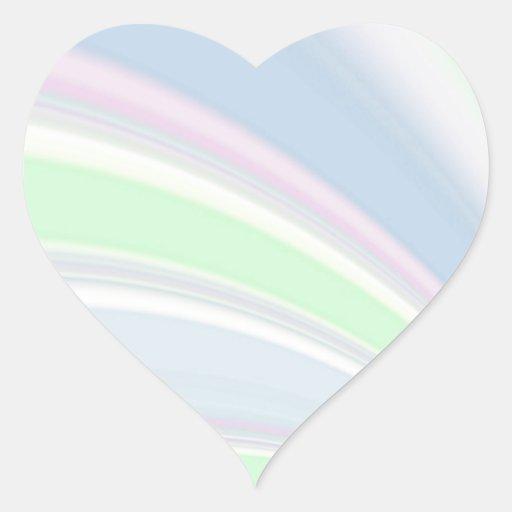 Re-Created Slide Heart Sticker