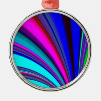 Re-Created Slide Round Metal Christmas Ornament