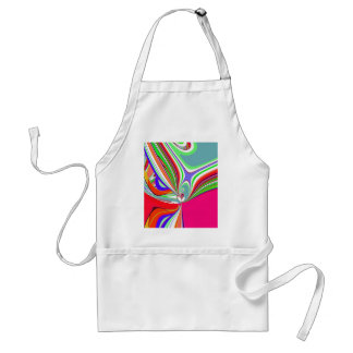 Re-Created Sour Candy by Robert S. Lee Adult Apron