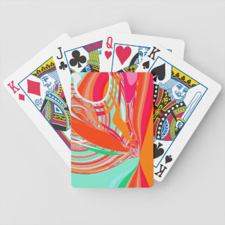 Re-Created Sour Candy by Robert S. Lee Bicycle Playing Cards