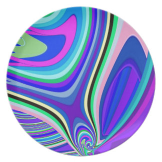 Re-Created Sour Candy by Robert S. Lee Dinner Plate