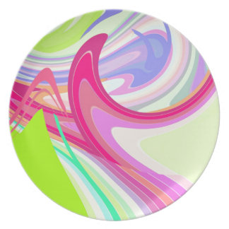 Re-Created Sour Candy by Robert S. Lee Plate
