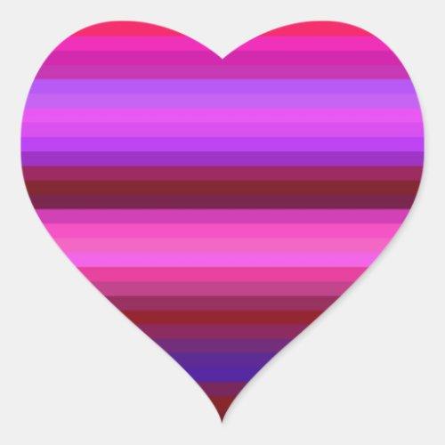 Re_Created Spectrum Heart Sticker