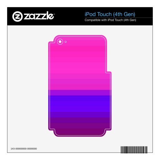 Re-Created Spectrum iPod Touch 4G Decals