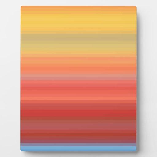 Re-Created Spectrum Photo Plaques