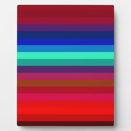 Re-Created Spectrum Plaque