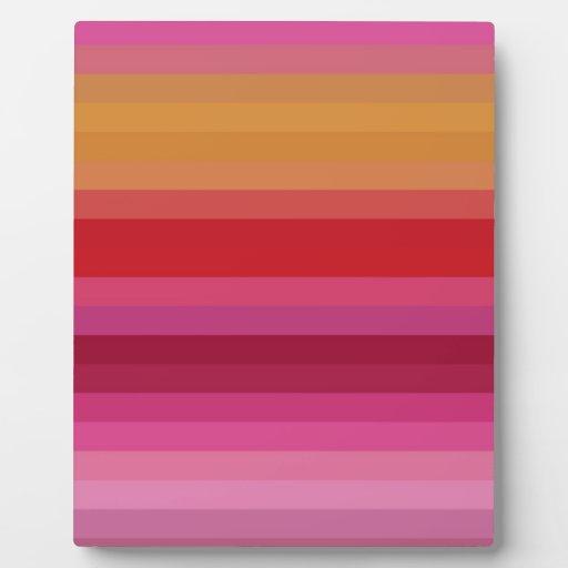 Re-Created Spectrum Plaques