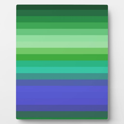 Re-Created Spectrum Photo Plaque