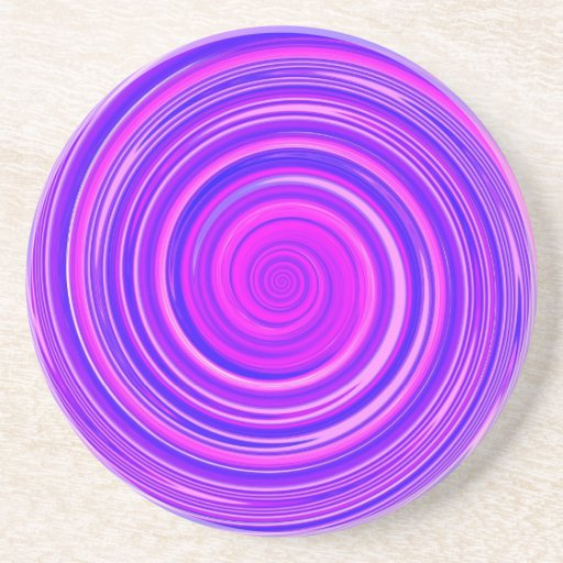 Re-Created Spin Beverage Coaster