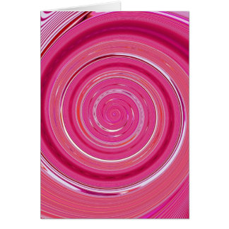Re-Created Spin Painting Card