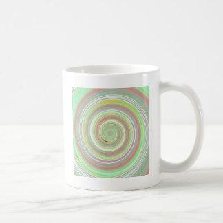 Re-Created Spin Painting Coffee Mug