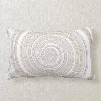 Re-Created Spin Painting Lumbar Pillow