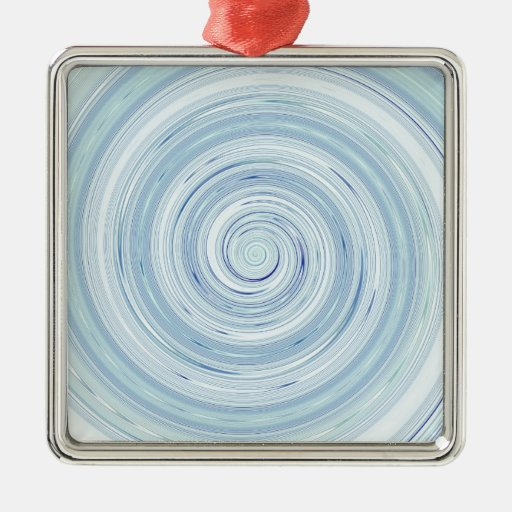 Re-Created Spin Painting Ornament