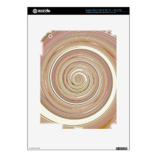 Re-Created Spin Painting iPad 3 Decals